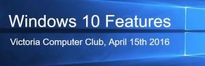 Window10Features